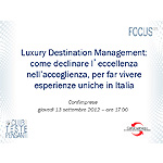 Luxury Destination Management