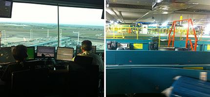 Viaggio alla scoperta dell'aeroporto di Roma Fiumicino: Sistema Smistamento Bagagli e Torre di Controllo