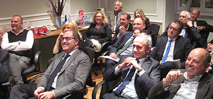 il Club delle Teste Pensanti di Roma, sede airberlin, 11 dicembre 2014