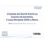 L impatto dei Grandi Eventi su turismo ed economia. Il caso Olimpiadi 2024 a Roma