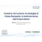 Investire nel turismo: le strategie di Intesa Sanpaolo, la testimonianza dell'imprenditore