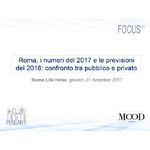 Roma, i numeri del 2017 e le previsioni del 2018: confronto tra pubblico e privato