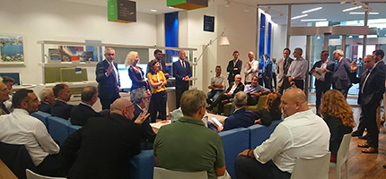 CPT a Intesa Sanpaolo con Iginio Massari, 20 settembre 2018