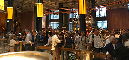 CPT a Starbucks Reserve Roastery, 20 settembre 2018