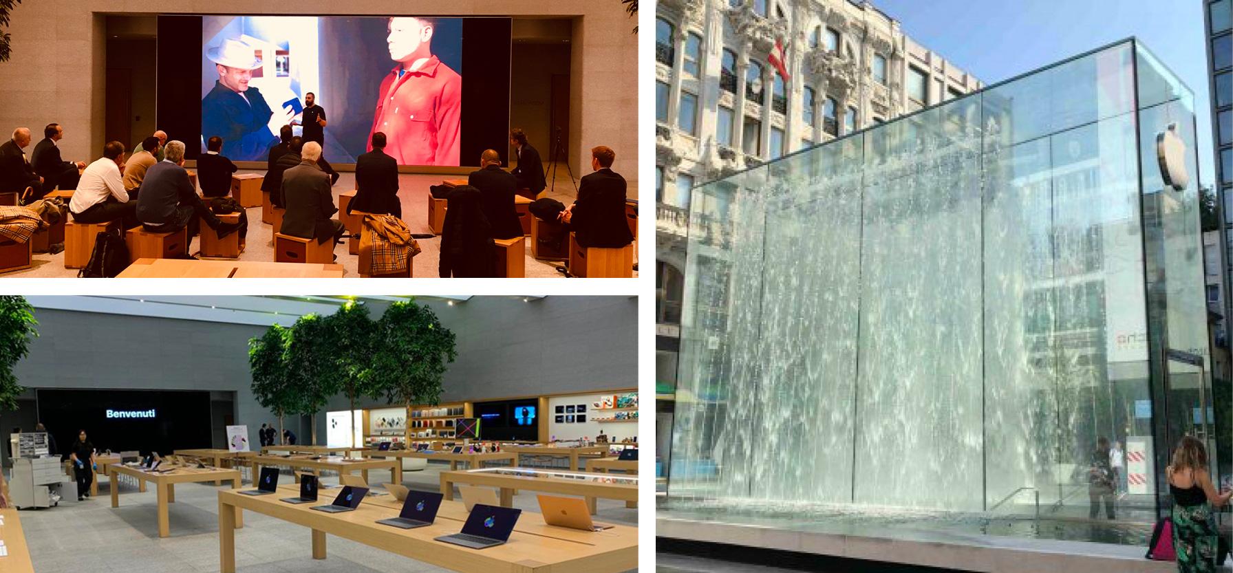 Apple Store Liberty, 24 ottobre 2019