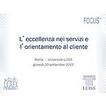 slide Eccellenza nei servizi Orientamento al Cliente