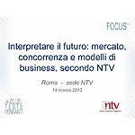 Interpretare il futuro: mercato, concorrenza e modelli di business, secondo NTV