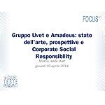 Gruppo Uvet e Amadeus: stato dell'arte, prospettive e Corporate Social Responsibility