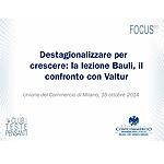 Destagionalizzare per crescere: la lezione Bauli, il confronto con Valtur