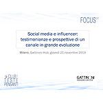 Social media e influencer: testimonianze e prospettive di un canale in grande evoluzione