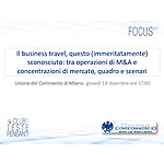 Il business travel, questo (immeritatamente) sconosciuto